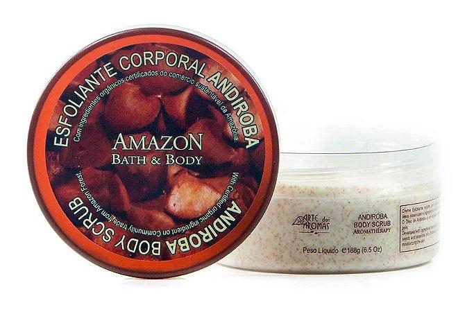 Esfoliante Corporal Natural Andiroba Arte dos Aromas 188g