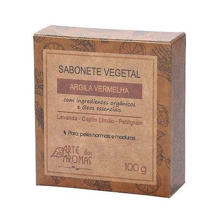 Sabonete Argila Vermelha Arte dos Aromas 100g