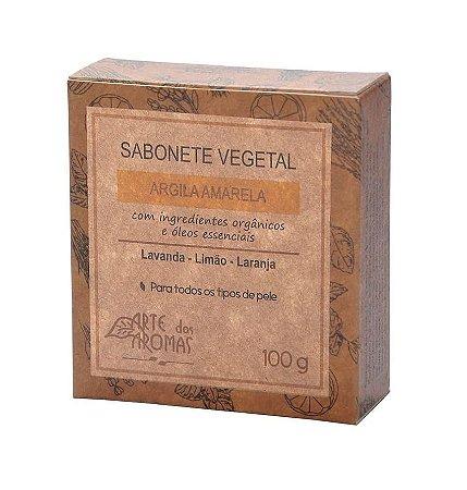 Sabonete Argila Amarela Arte dos Aromas 100g