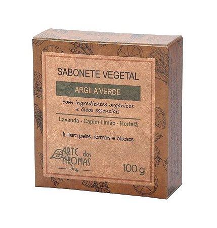 Sabonete Argila Verde Arte dos Aromas 100g