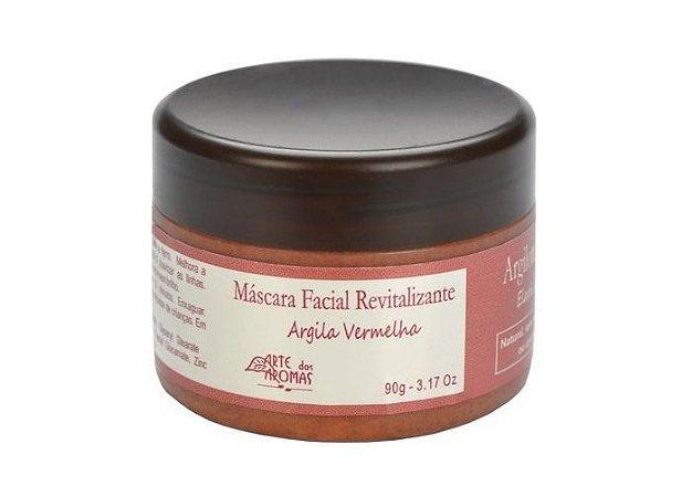 Máscara de Argila Vermelha Arte dos Aromas - Revitalizante 90g