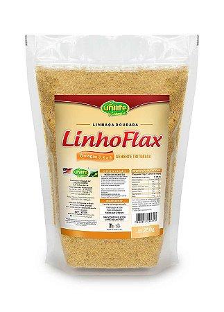Farinha de Linhaça Dourada Linho Flax Unilife 250g