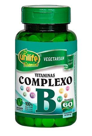Vitaminas do Complexo B Unilife 60 Cáps.