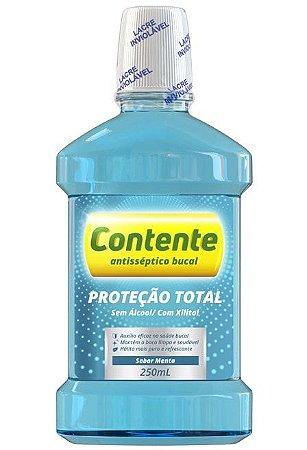 Enxaguante Bucal Contente Proteção Total - Menta 250ml