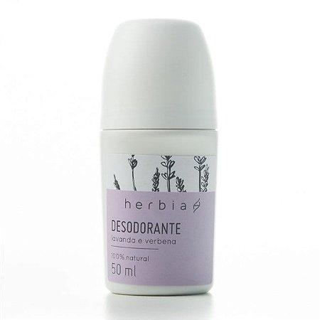 Desodorante Natural Vegano Lavanda Herbia 50ml