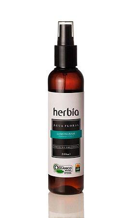 Água Floral Hidrolato Orgânico Lemongrass - Capim Limão Herbia 200ml