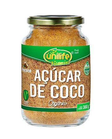 Açúcar de Coco Orgânico Unilife