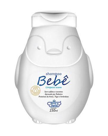 Shampoo Vegano Bebê Flores & Vegetais 250ml