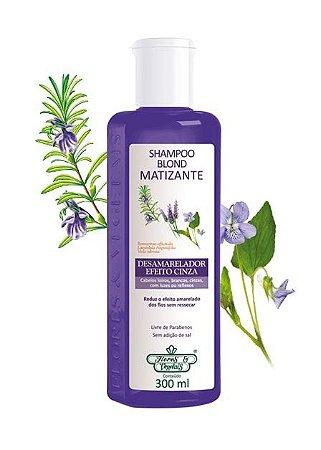Shampoo Blond Matizante Flores & Vegetais 300ml
