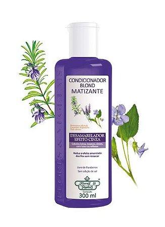Condicionador Blond Matizante Flores & Vegetais 300ml