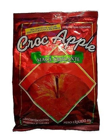 Maça Crocante Desidratada Croc Apple 40g