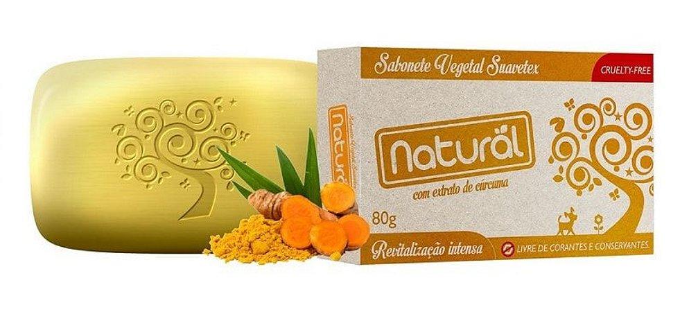 Sabonete de Cúrcuma Natural Orgânico Contente 80g
