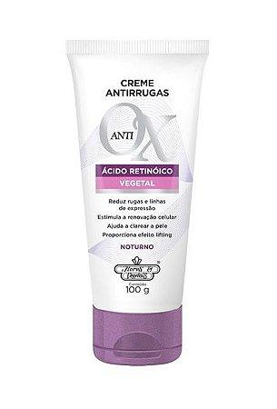 Creme Antirrugas Anti-OX Noturno Flores & Vegetais 100g