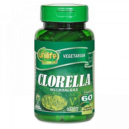 Clorella Unilife - Microalgas 60 Cápsulas
