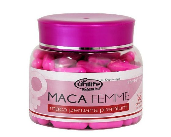Maca Peruana Premium Unilife Femme Care - 90 Cápsulas
