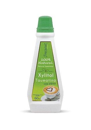 Adoçante Stevia, Xylitol e Taumatina Finesweet Natural Airon 60ml