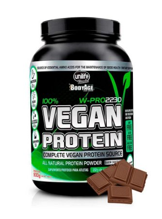 Proteina Vegana - Vegan Protein Unilife - Chocolate 900g