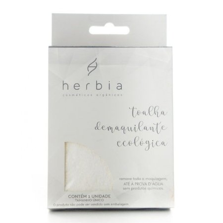 Toalha Demaquilante Ecológica Herbia