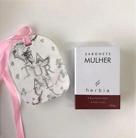 Sabonete Íntimo Natural Mulher Herbia 100g