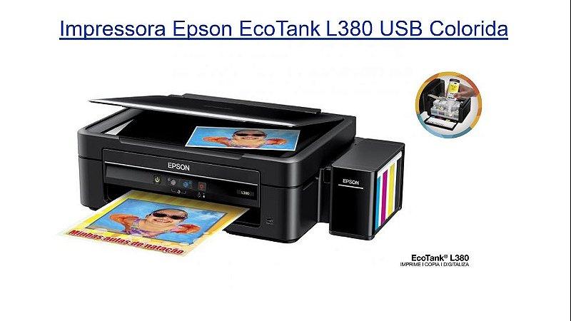 VEdu-Impressora Epson EcoTank L380