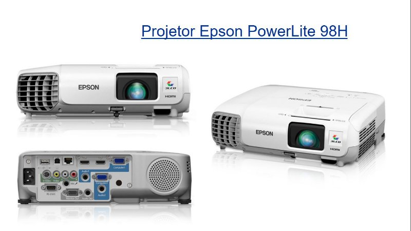 VEdu-Projetor Epson PowerLite 98H