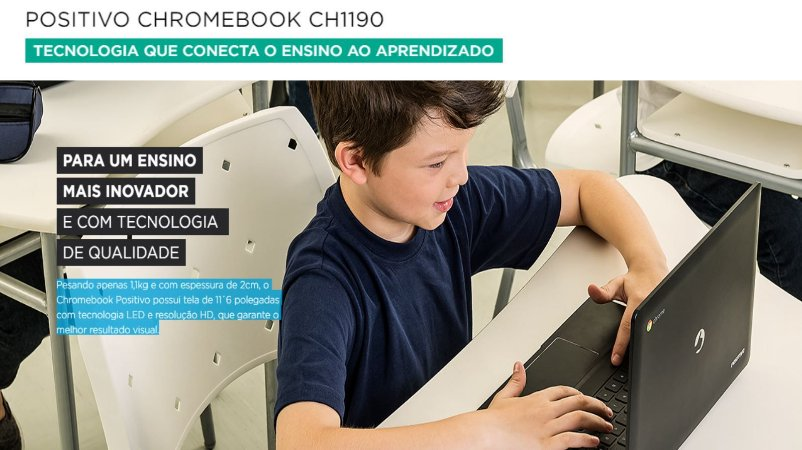 VEdu Positivo Chromebook CH1190
