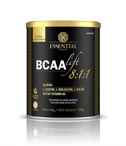 BCAA LIFT 8:1:1 Neutro Essential Nutrition 210g