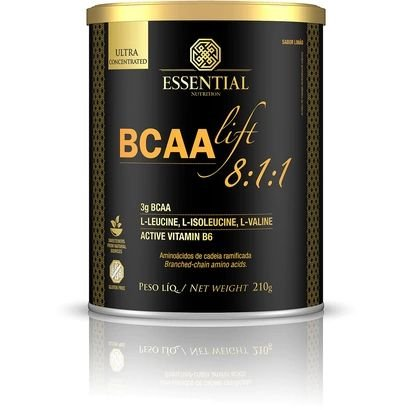 BCAA LIFT 8:1:1 Limão Essential Nutrition 210g