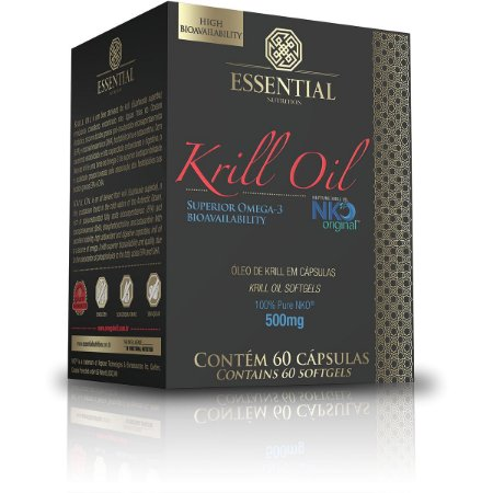 Óleo de Krill Essential Nutrition 60 Cápsulas