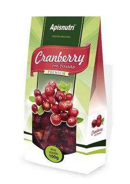 Cranberry Premium fruta em passas Apisnutri 100g