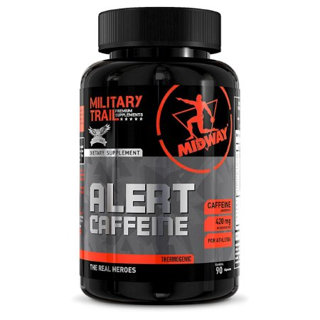 Alert Cafeína Midway 90 caps Military Trail