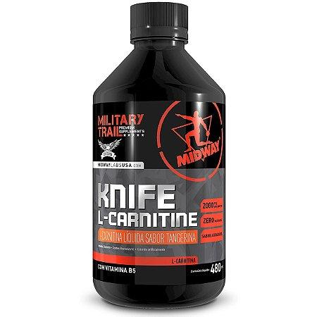 L-Carnitina Liquida 2100mg Knife Midway 480ml