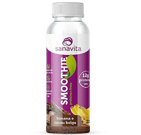 Smoothie Sanavita com 12g de Proteina Banana