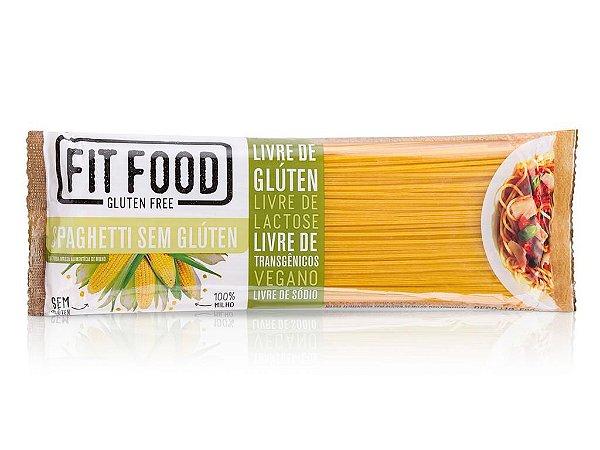 Massa Milho s/ Gluten Spaghetti 500g FIT FOOD
