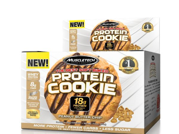 Protein Cookies Muscletech Chocolate Peanut Butter