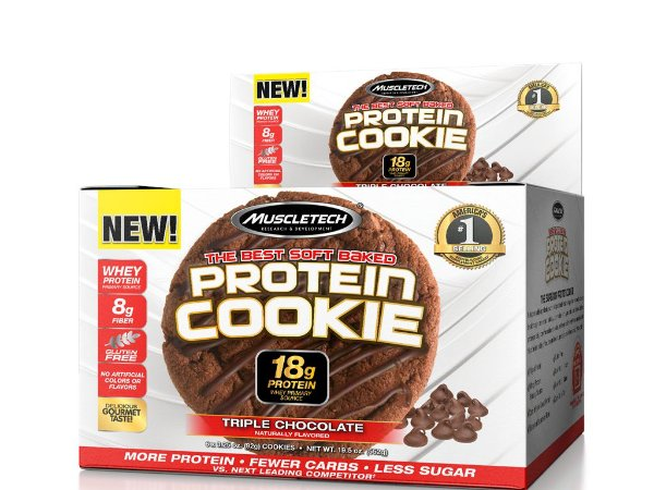 Protein Cookies Muscletech Triple Chocolate