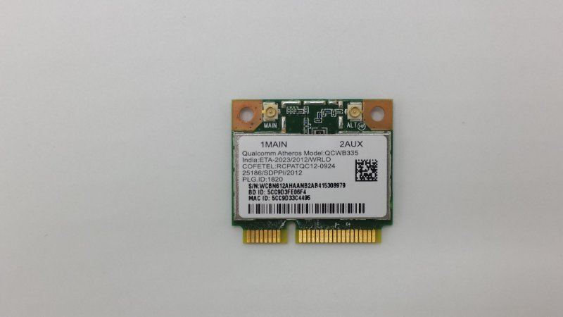 Acer Aspire E1-532 Atheros WLAN 64Bit