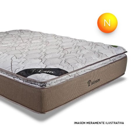 Colchão Queen Platinum Mola Ensacada Pillow Top One Side Luckspuma + Box