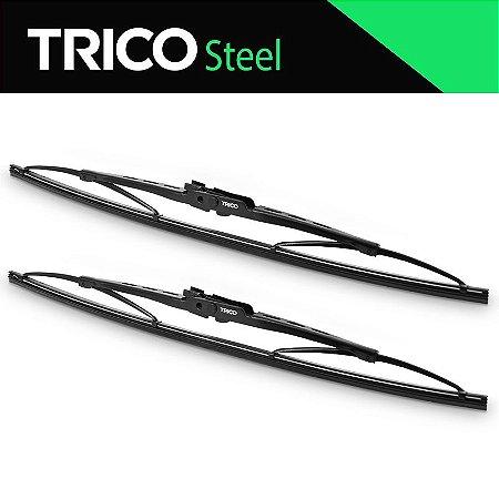 Limpador de Para Brisa Palhetas Limpador Trico Steel Standard Gol 80