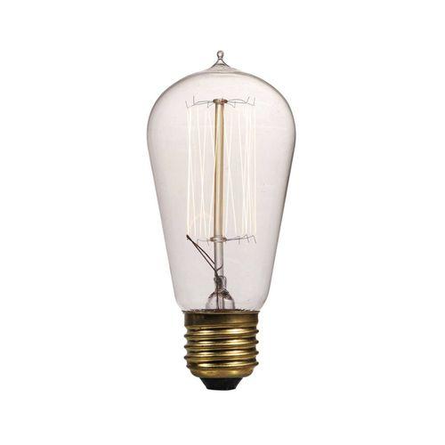 Lâmpada Decorativa Vintage Edison Bulb Lamp ST58 CSC Cage - Etna - 127V