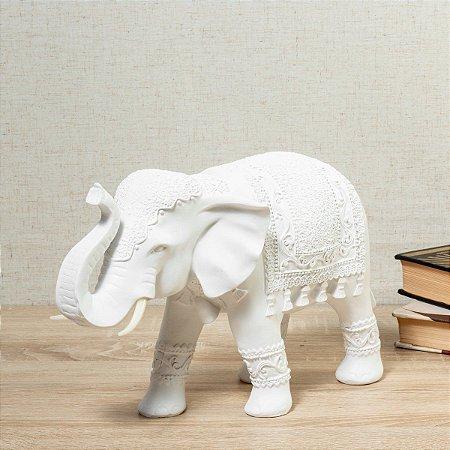 Estátua Elefante Tendai 21cm