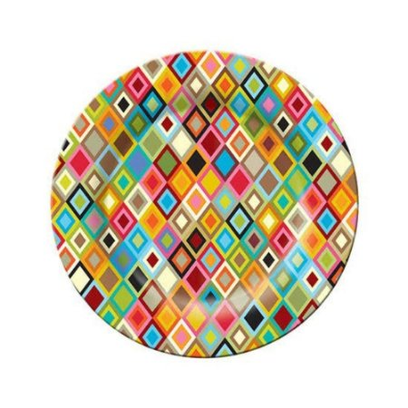Prato de Sobremesa Mosaic Melanina Colors - Etna