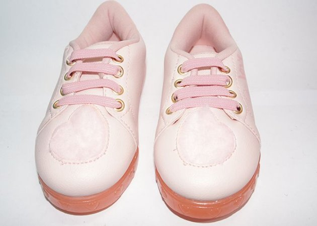 Tênis Pampili Baby Fun Rosa Bale Nº21
