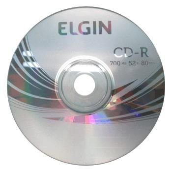 INF CD-R ELGIN 700MB 80MIN GRAVAVEL