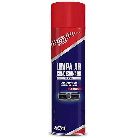 LIMPA AR CONDICIONADO C/SONDA GT2000 LIMAO 300ML