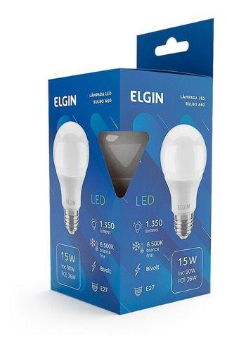 LAMPADA ELGIN LED BULBO A60 15W BIVOLT