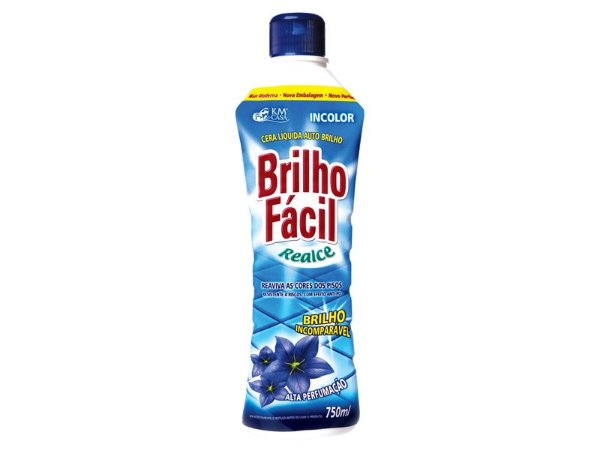CERA BRILHO FACIL LIQUIDA INCOLOR 750ML