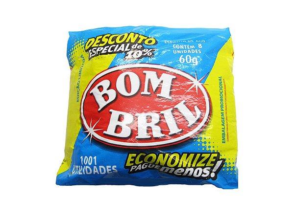 LA DE ACO BOMBRIL 60GR