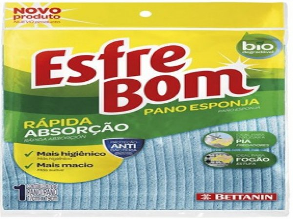 PANO ESFREBOM/SEK ESPONJA VEGETAL BETTANIN