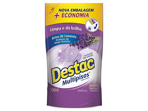 LIMP POLIFLOR DESTAC REFIL LAVANDA 500ML